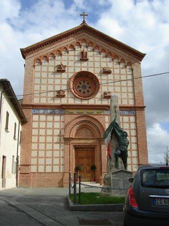Church of Santa Maria del Fosso, Castiglione della Valle