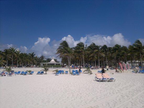 Hotel Riu Palace Riviera Maya: Playa del hotel2