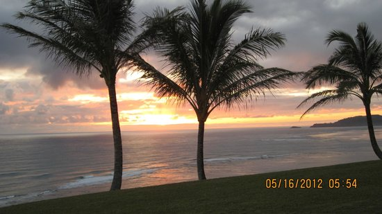 Sealodge at Princeville: Sunrise from our unit
