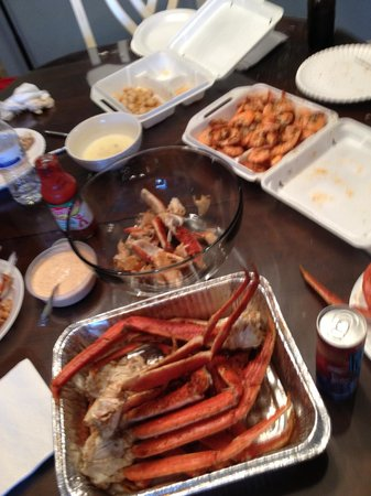 North Beach Plantation: Eugene Platt's Seafood...YUM!
