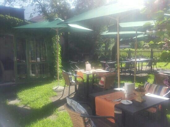 Das Freiberg Romantik Hotel: Garten