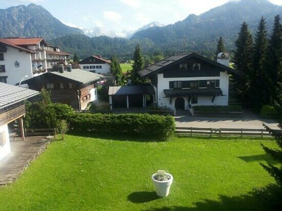 Das Freiberg Romantik Hotel: Blick vom Balkon