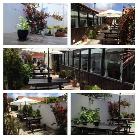 Restaurante Tavola: Maravilhosa esplanada do Távola !!