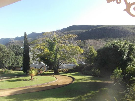 Robin's Nest Guest House: Hermanus Hills and Grounds