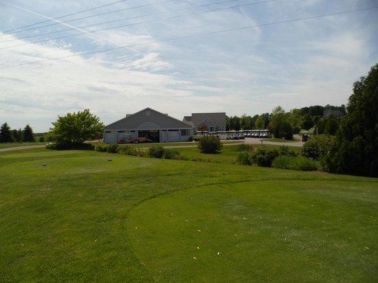 The Crown Golf Club: Crown Golf Club - clubhouse - Traverse City, MI