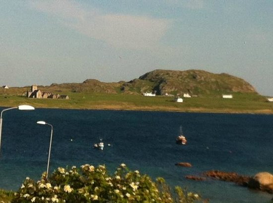 View from Staffa House towards Iona