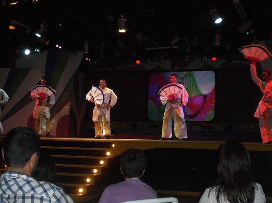 Show del Hotel Laguna Mar