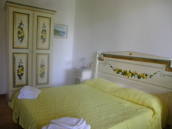 Villa Giada: Unser kleines Zimmer