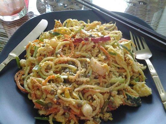 Giva Organic Vegan Raw Food & Drink : 'Pad Thai'