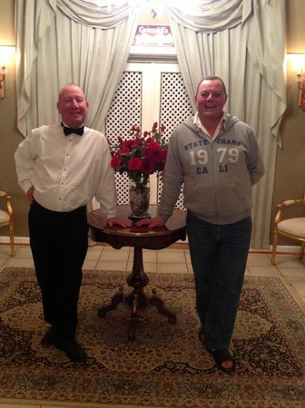 Karroo Theatrical Hotel : Owners, Mark & Jacque