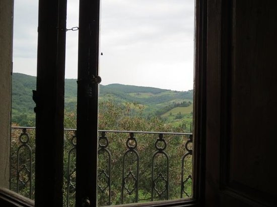 Taverna Del Guerrino : the view from our table