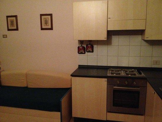 Residence Casa e Vela : kitchen on the ground floor
