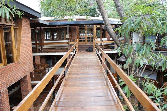 Lake Manyara Wildlife Lodge: Walkway