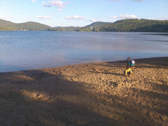 Le Grand Lodge Mont-Tremblant: Private beach