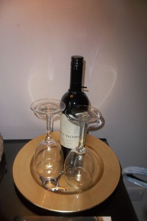 Malmaison: Wine for sale in the room