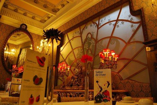 Castelo de Santa Catarina: Dining room