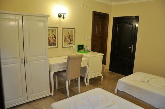 Hotel Villa Monte: Double room with two single beds, HVM Cirali