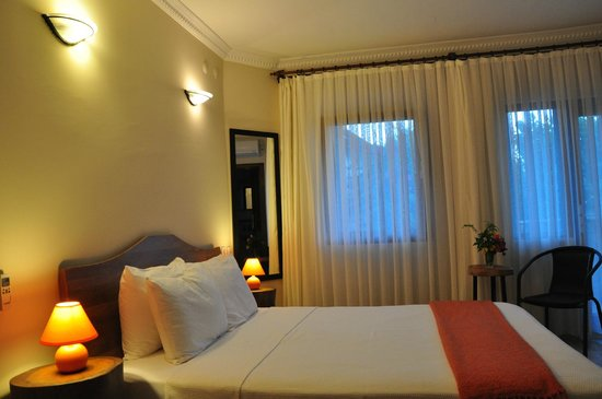 Hotel Villa Monte: Double room with one large bed, HVM Cirali
