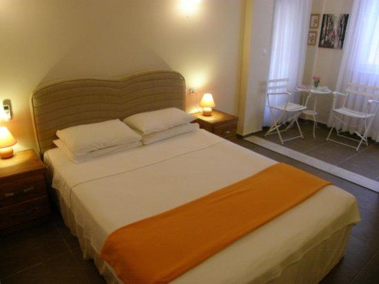 Hotel Villa Monte: Main bedroom of the family room, HVM Cirali