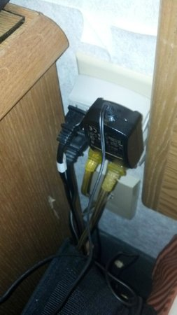 Days Inn Columbus Fairgrounds: Dangerous? outlet solution