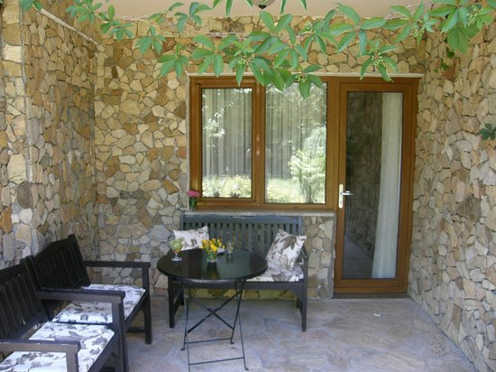 Hotel Villa Monte: Terrace of one of the family rooms, HVM Cirali