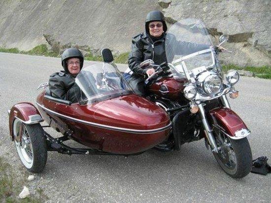 Sidecar Motorcycle Tour Jasper