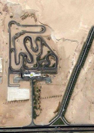 Ghibli Raceway : Map trace