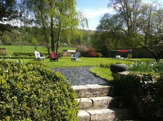 Chateau les Parcs Fontaines : parc