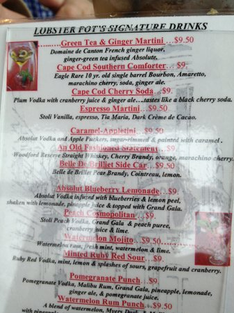 Lobster Restaurants In Provincetown Ma
