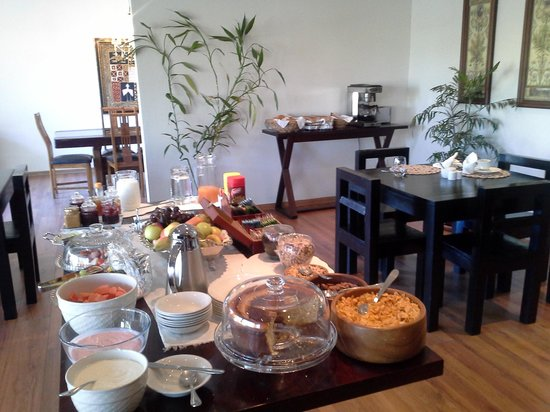 Villa Moringa Guesthouse: Breakfast at Villa Moringa