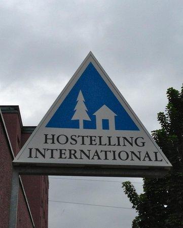 Zurich Youth Hostel : Hostel Sign