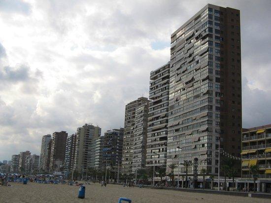 Les Dunes Comodoro Hotel: zicht op hotel