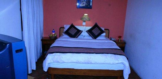 Heritage Home Hotel & Guest House: La chambre que j'ai eu à l'heritage Home Hotel de Kathmandou