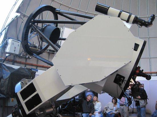 Mt. Lemmon SkyCenter Observatory: Close View of One of the Huge Telescopes