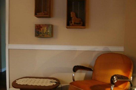 La Chaumiere du Village B&B : The Green Room