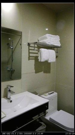 Sunris Prosperous Airport Hotel : 浴室