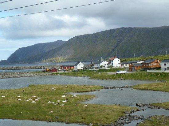 Nordkapp Turisthotell: blick aus dem fenster