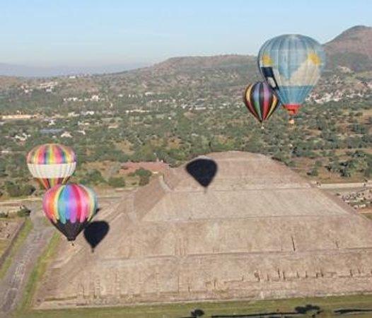 Vuelos en Globo Mx: balloons teotihuacan