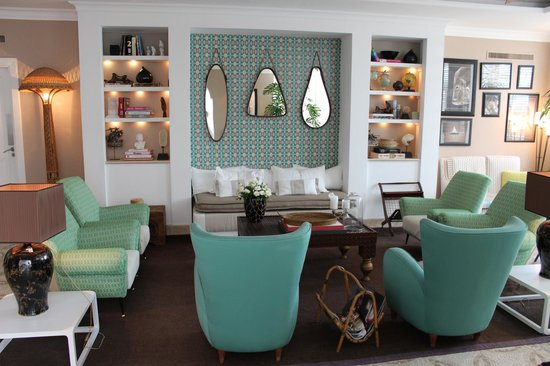 Capri Tiberio Palace: I want my lounge room to look exactly the same