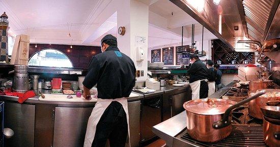 Nautilus desde 1955: La cocina.