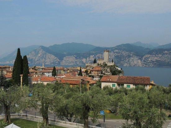 Hotel Laura Christina: Blick auf Malcesine