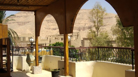 Hotel Amenophis: Le roof terrace. maqnifique vue .