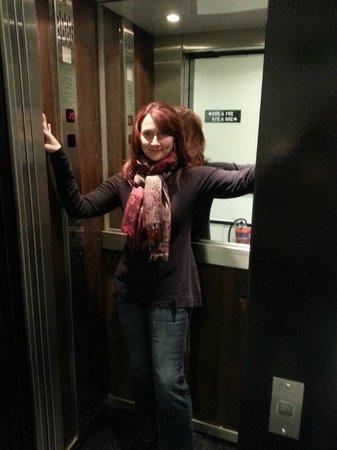 Hotel Standard Design : Smallest Elevator Ever!!