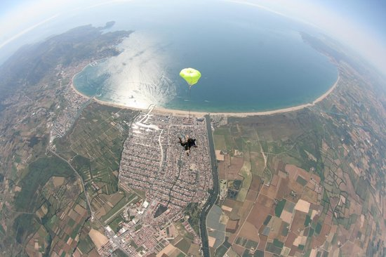 Golf de Roses Picture of Skydive Empuriabrava The Land of The