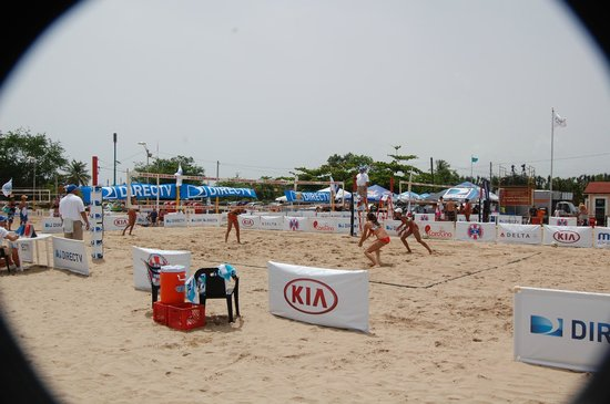 Carolina Beach: Beach volleyball tournament