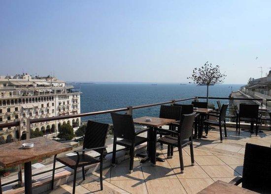 Electra Palace Thessaloniki: Terrace