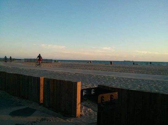 Dockweiler Beach RV Park : View from RV spot