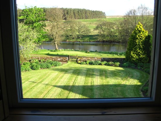 Boat Farm B&B: View from the bedroom window