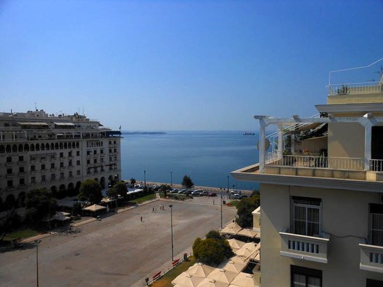 Electra Palace Thessaloniki: View from the room