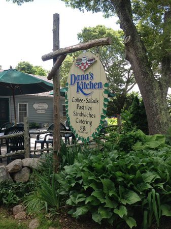 Dana\'s Kitchen sign out front - Picture of Dana\'s Kitchen, Falmouth ...